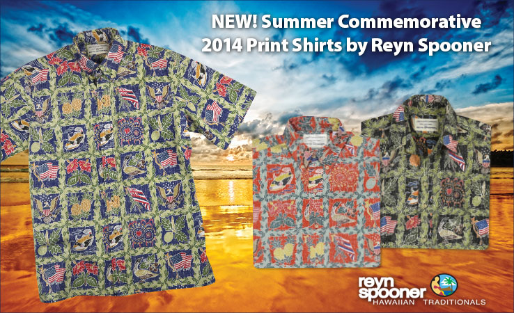 New Print Shirts by Reyn Spooner