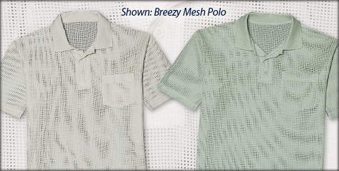 Breezy Mesh Polo