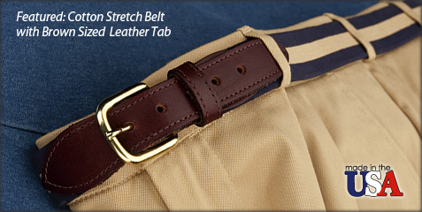 Cotton Stretch Belt