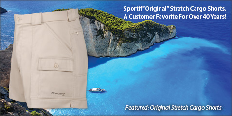 Original Stretch Cargo Shorts